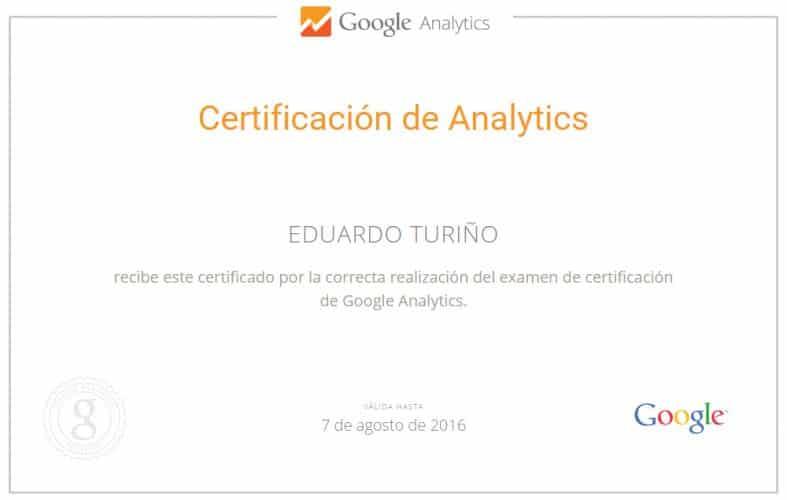 Experto en Google Analytics Bilbao. Eduardo Turiño.