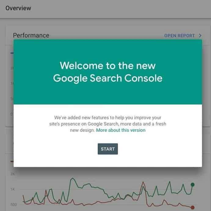 Google Search Console sale de su fase Beta