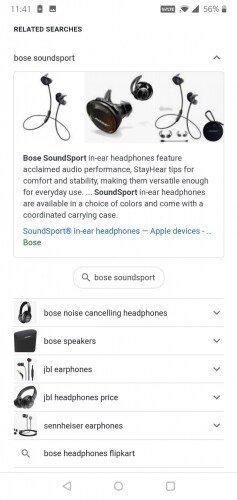 Imágenes en las búsquedas relacionadas de Google 4