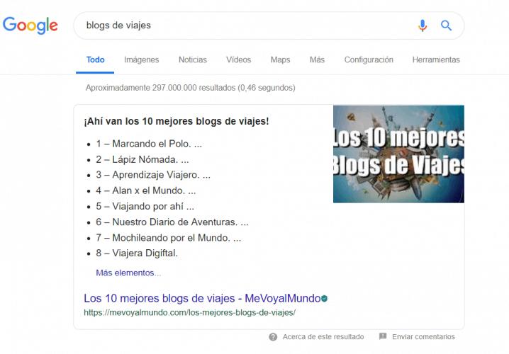Resultado 0 de Google