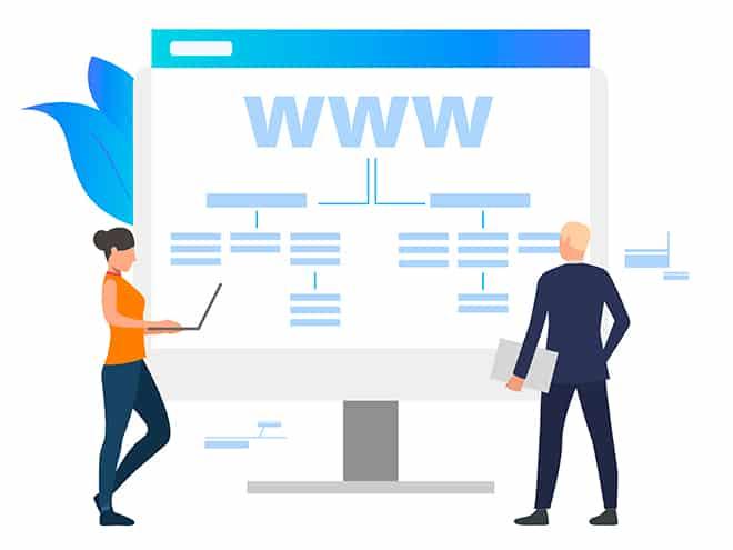 Arquitectura Web Coherente y Organizada